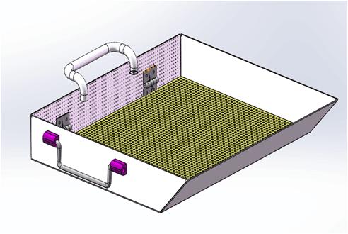 CNC设备钢屑收集及过滤装置